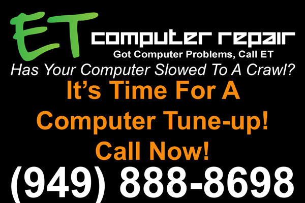 ET Computer Repair, It's Time For A Computer Tune-Up