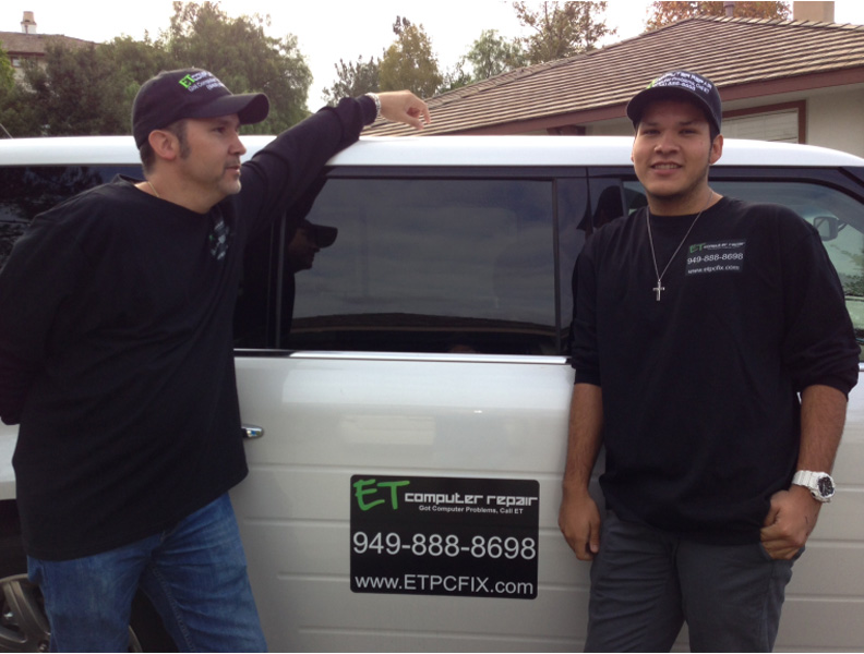"Master Jack and his dad Eddie Taylor ""Covering Coto De Caza, Dove Canyon, Ladera Ranch, Las Flores, Portola Hills, Rancho Santa Margarita, Trabuco Canyon & the World with Computer Repair & Support"""